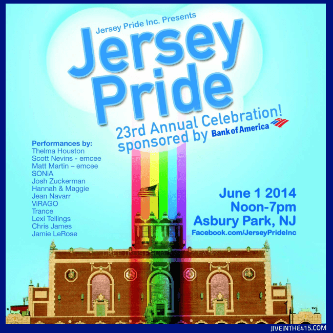 Jersey Pride Parade and Festival June 1, 2014