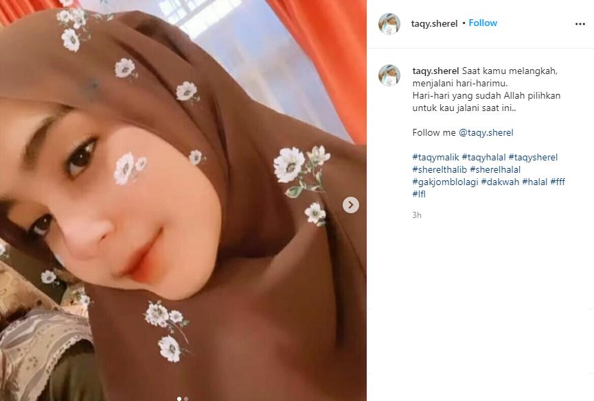 Gaya Fashion Sherel Thalib Istri Taqy Malik Sopan Dan Elegan
