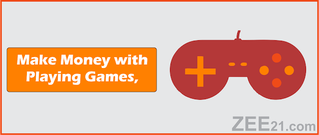 Make Money Online  with playing games