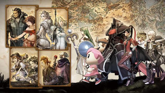 Super Smash Bros. Ultimate (Switch): Spirits de Octopath Traveler serão adicionados ao jogo