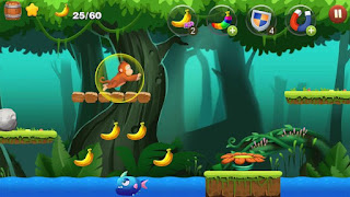Jungle Monkey Run Apk - Free Download Android Game