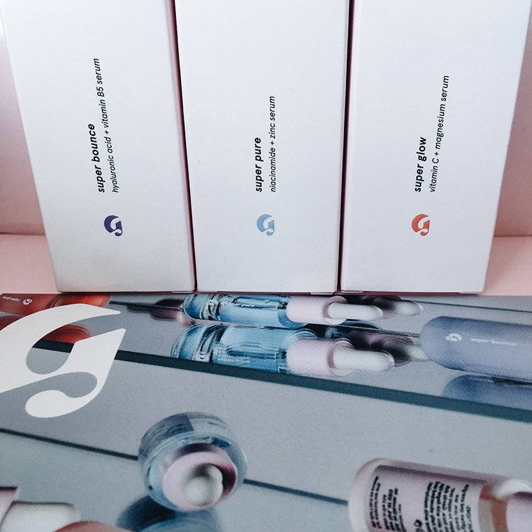 Glossier the Supers serums