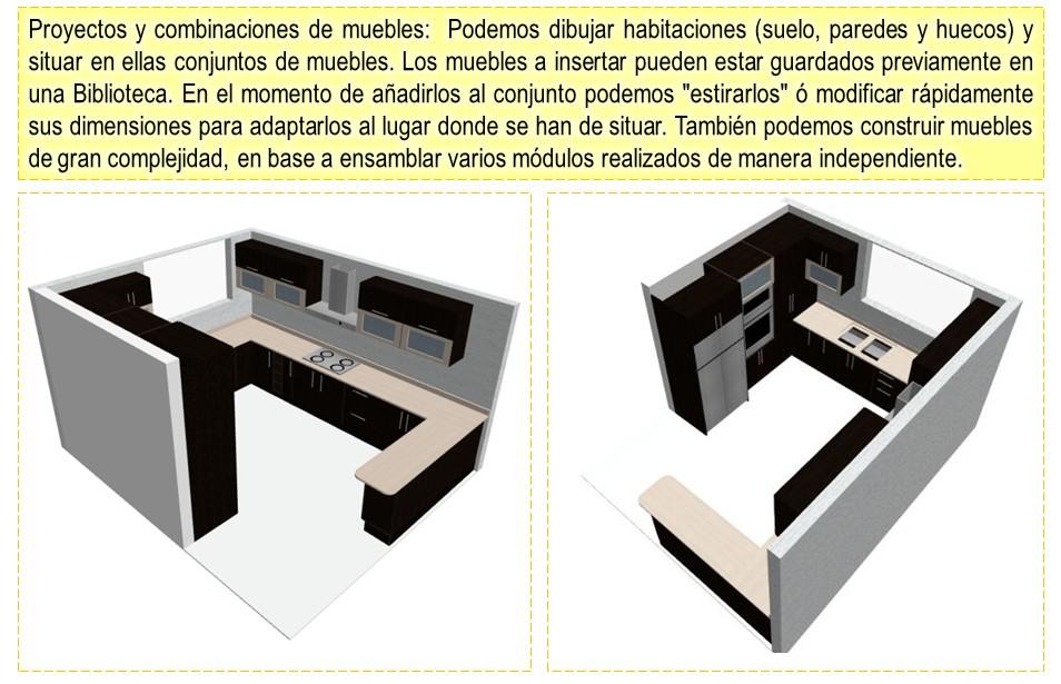 Dise o de muebles madera programa para dise ar y crear for Programa para hacer muebles de melamina gratis