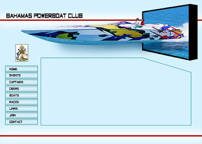 Bahamas Powerboat Club - Website template