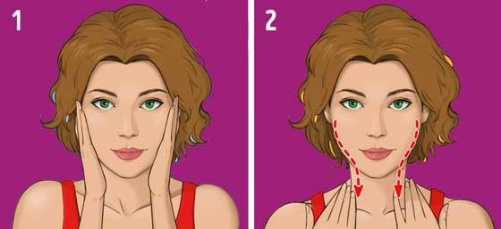 asahi teknik pijat wajah jepang, cukup 5 menit sehari kerutan wajah dan kantong mata hilang