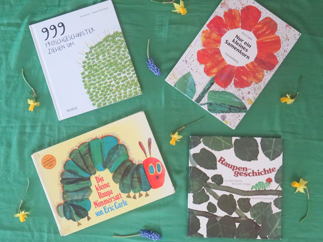 Kinderbücher im Frühling