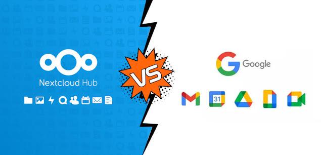 Nextcloud Hub vs Google apps