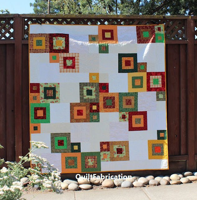 Zen Garden quilt in full