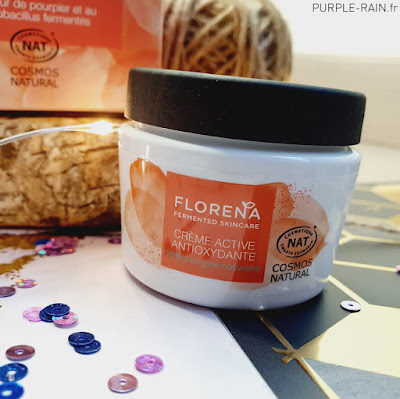 Blog PurpleRain - Crème active antioxydante - Florena