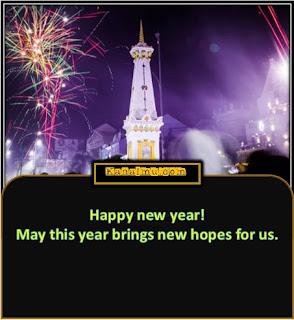 kata ucapan tahun baru bahasa inggris