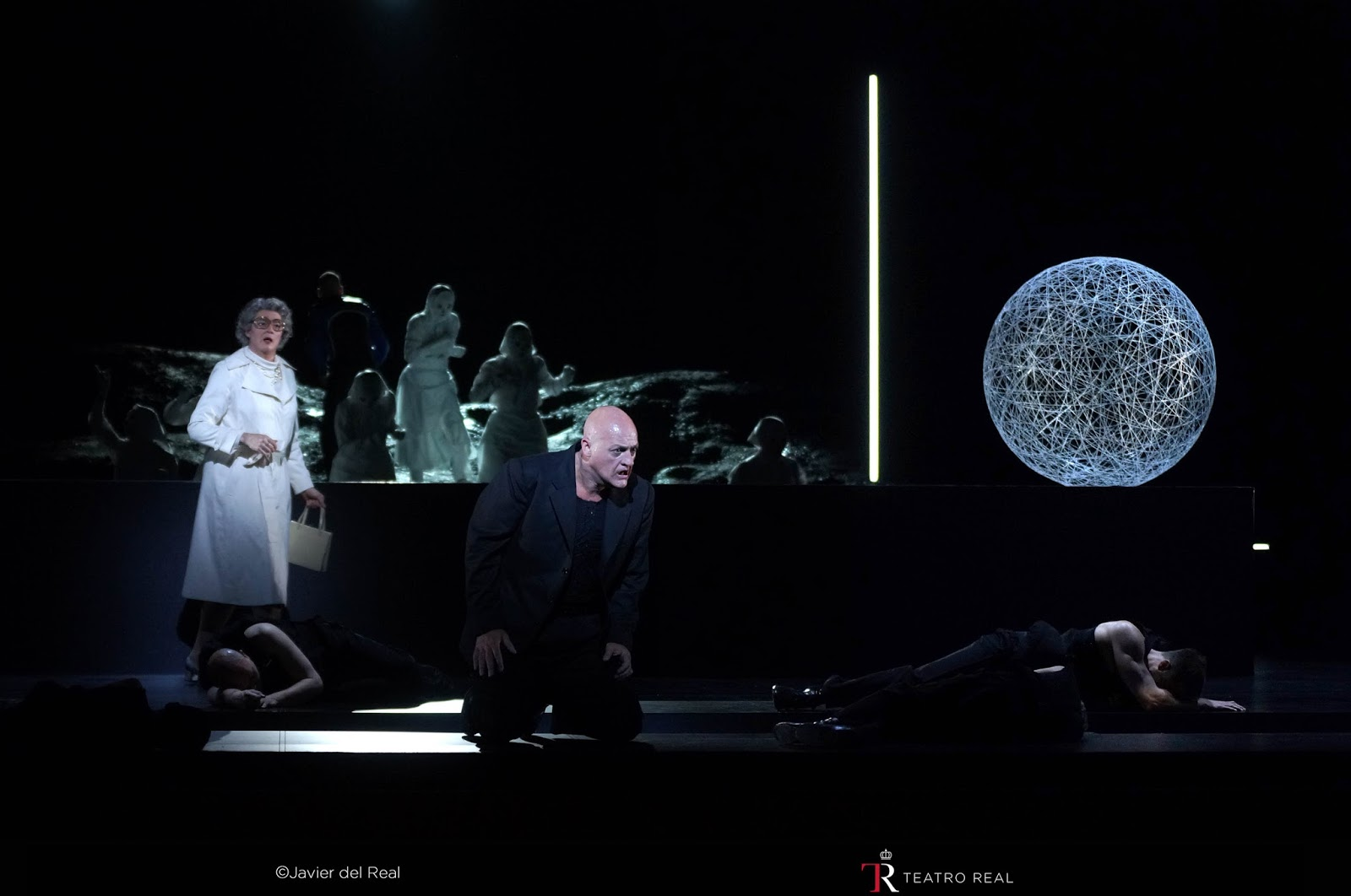 Ginastera: Bomarzo - Hilary Summers, John Daszak - Teatro Real, Madrid (Photo Teatro Real)