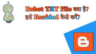 Robot Txt File Kaya