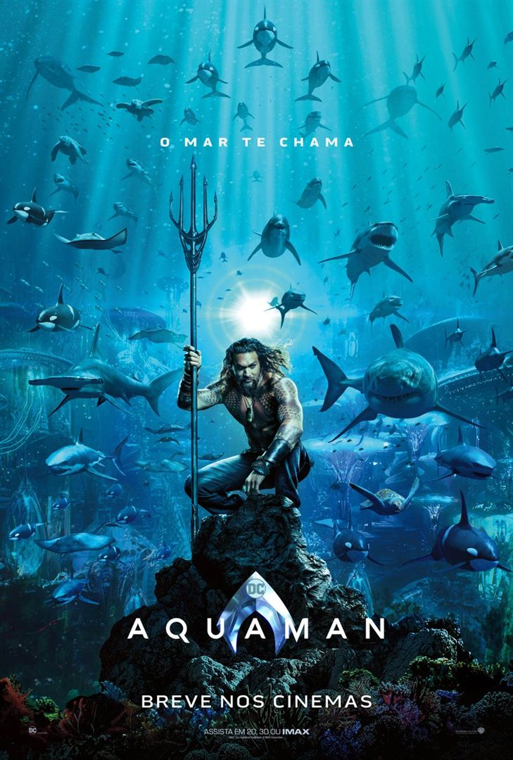 Capa do Filme Aquaman Imax