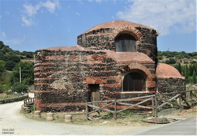 Església bizantina Santa Maria Bubalis Siligo Sardenya