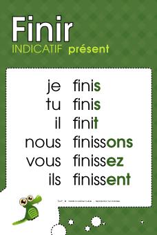 Mon Coin De Francais Finir 2eme Conjugaison