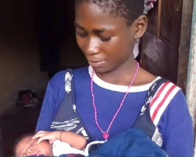 12 year old nigerian girl gives birth