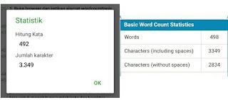 Cara Menghitung Jumlah Kata Dan Karakter Teks Di Android