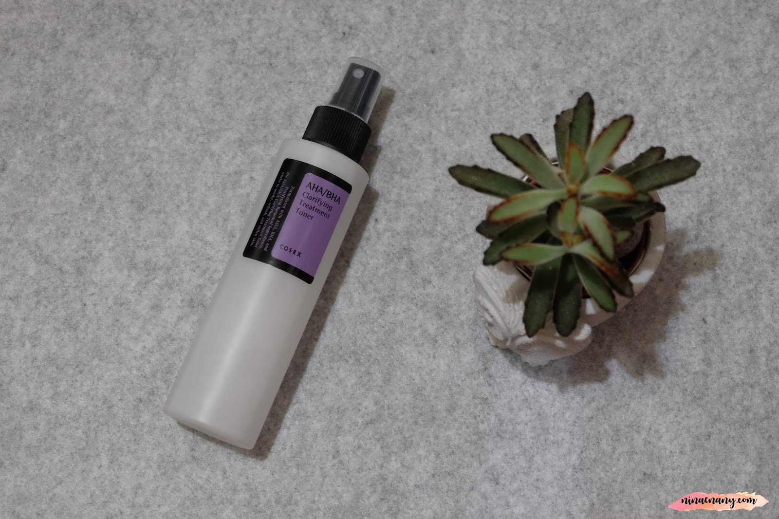 Beauty Korean Skincare Haul By Cosrx Nina Enany Aha Bha Clarifying Treatment Toner 150ml The Second Review About Is Made With Mineral Water To Rejuvenate For