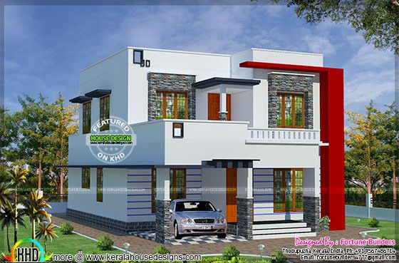 low cost double floor home