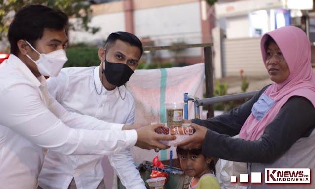 Pengurus TIDAR Sulsel Berbagi Takjil di Bulan Ramadhan