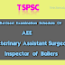Postponement of TSPSC AEE, Veterinary Assistant Surgeon, Inspector of Boilers Exams
