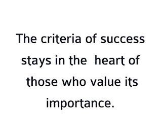 CravingBiz.com Criteria of success