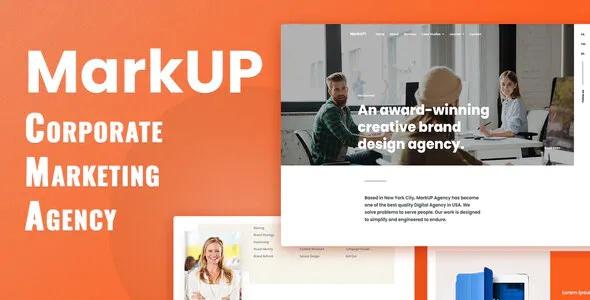 Best Corporate & Marketing Agency Elementor Template Kit
