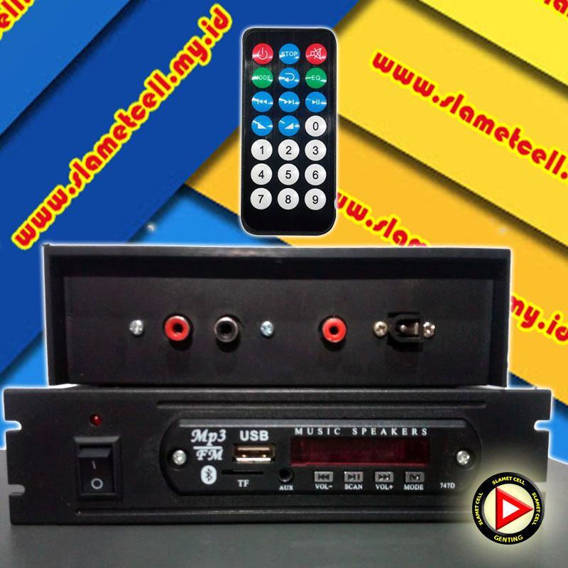 MP3 Player Bluetooth 747D 2