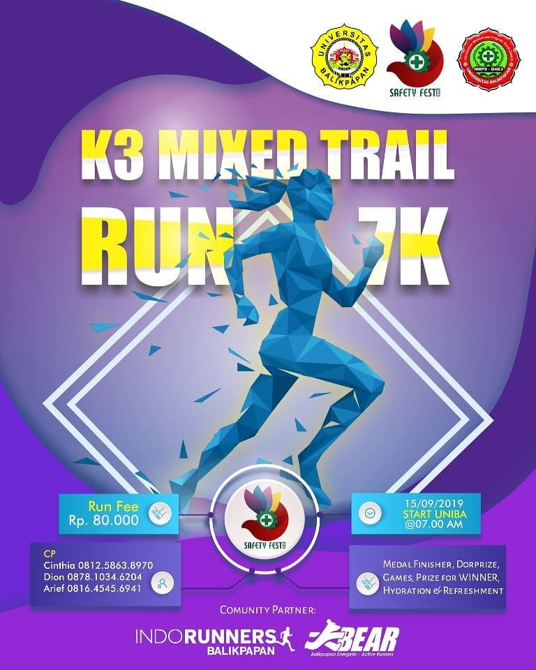 K3 Mixed Trail Run • 2019