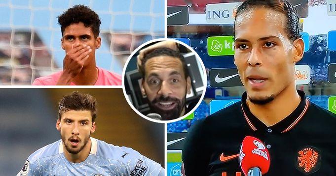 Ferdinand names Van Dijk world's best defender explains why