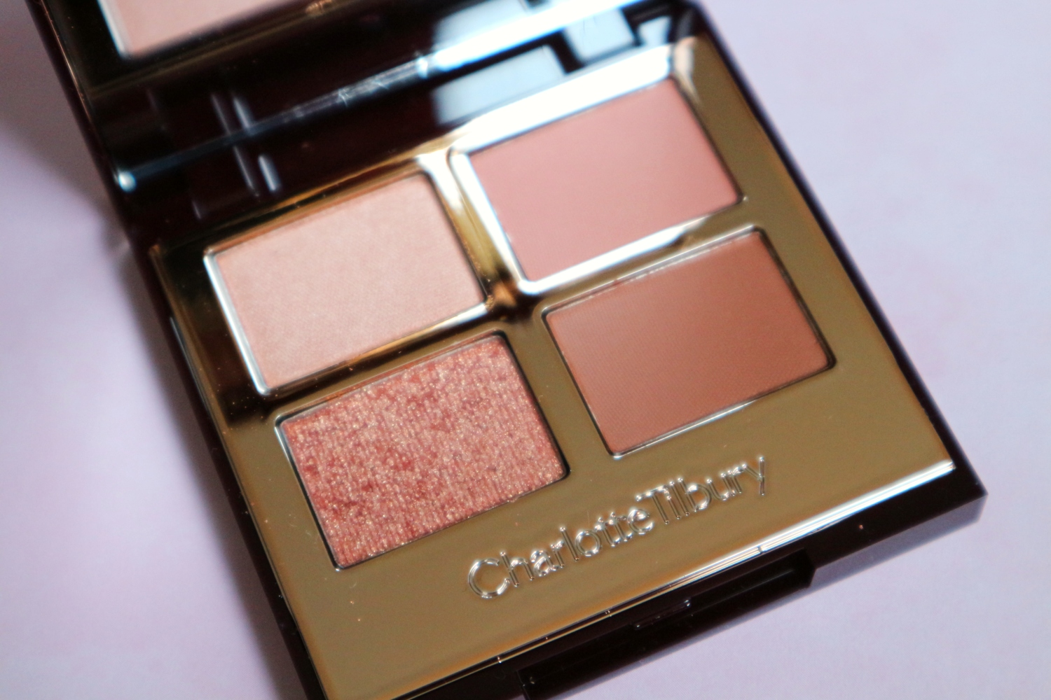charlotte tilbury pillow talk eyeshadow review