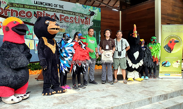 Report Borneo Bird Festival 2019