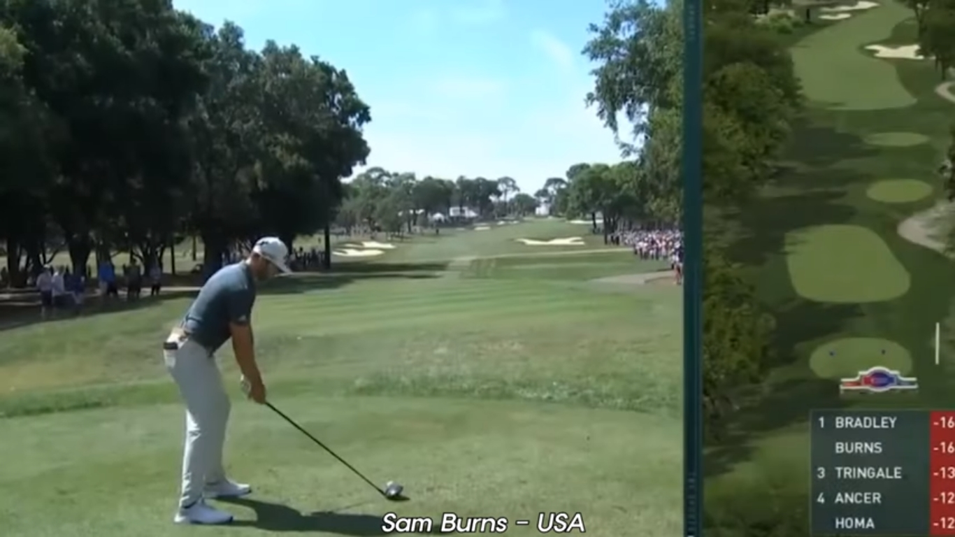 Sam Burns earns first PGA Tour win in impressive fashion at Valspar Championship