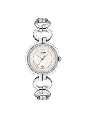 Ceas Tissot T0942101111600 cu bratara metalica cu model de inele