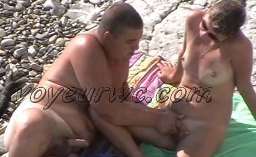 BeachHunters Sex 22370-22467 (Nude beach sex with nudist couples filmed on voyeur cam)