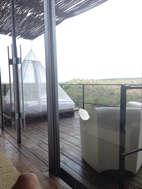 outdoor, balcony, suite lebombo singita, a room with a view