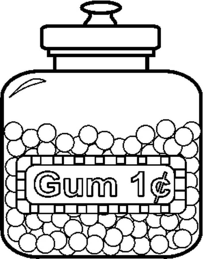 Menta m s chocolate recursos y actividades para for Gum coloring pages