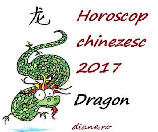 Horoscop chinezesc Dragon 2017