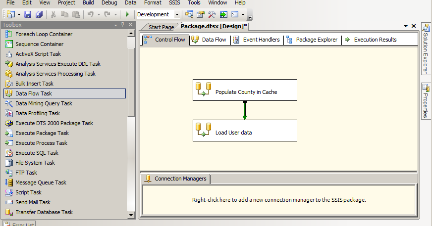 Exact Help: Cache transform very simple example in SSIS | demo