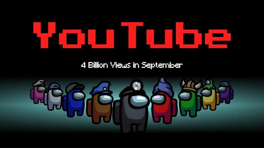 Among Us Capai 4 Miliar Views di YouTube Pada Bulan September