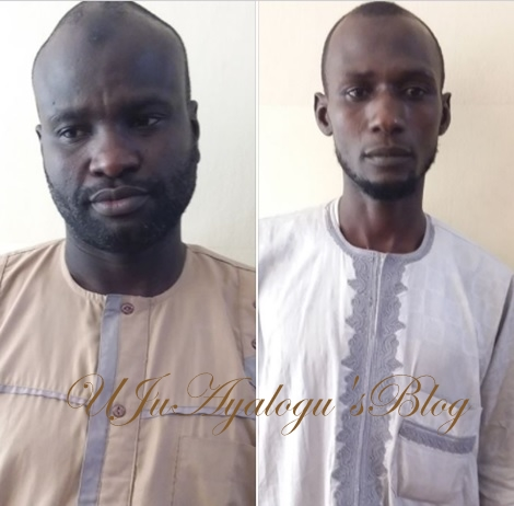 See the Faces of Two Whistle-blowers Remanded in Prison by EFCC for Giving False Information (Photos)