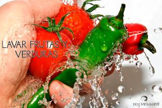 lavar fruta y verdura embarazo alimentación mitos alimentos prohibidos blog mimuselina