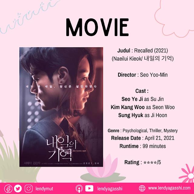 Review dan sinopsis Film Recalled 2021