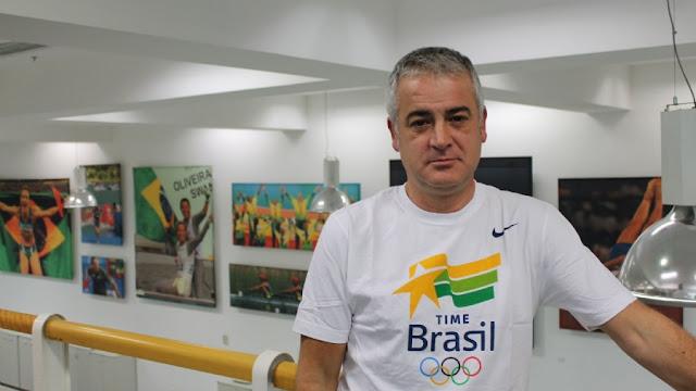 Jesus Morlán em foto para o COmitê Olímpico Brasileiro
