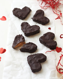 Vegan Chocolate Peanut Butter Hearts
