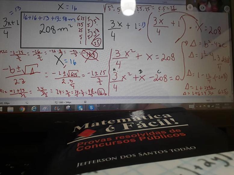 Aulão online de Matemática para Concursos Públicos