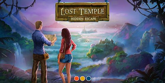 hidden escape затерянный храм прохождение части 1 в игре