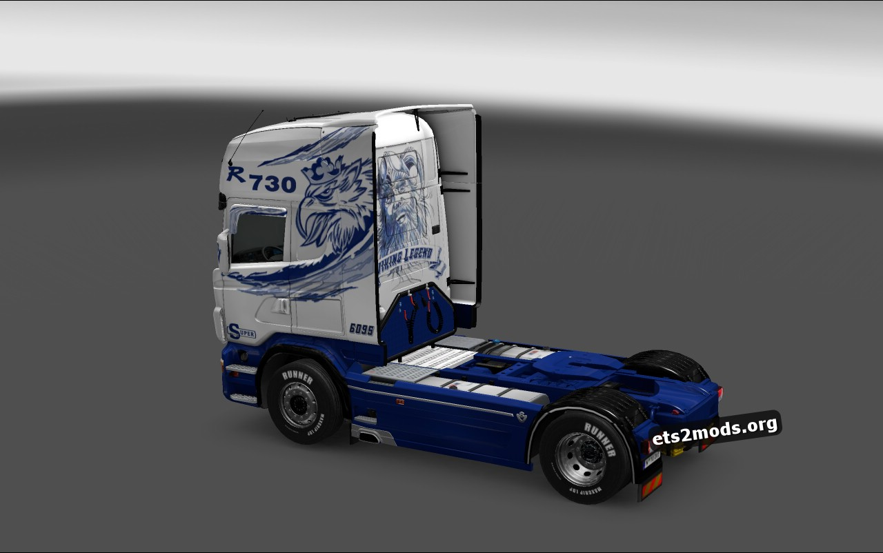 Scania RJL Polar Skin