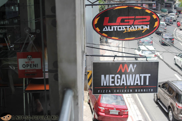 Megawatt Eat While You Wash Diner in Quezon City