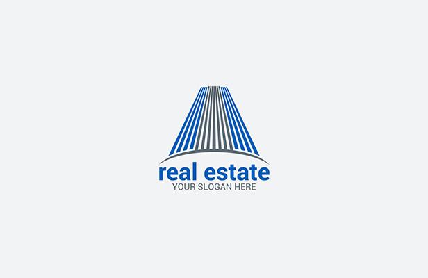 3 Building - Real Estate Logo Building Design